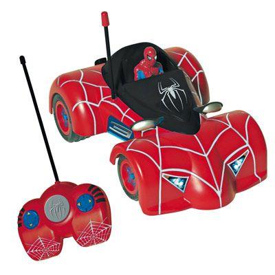 Voiture radio command spider man - Spiderman voiture ...